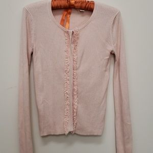 Chelsea and violet pink cardigan sweater, XS